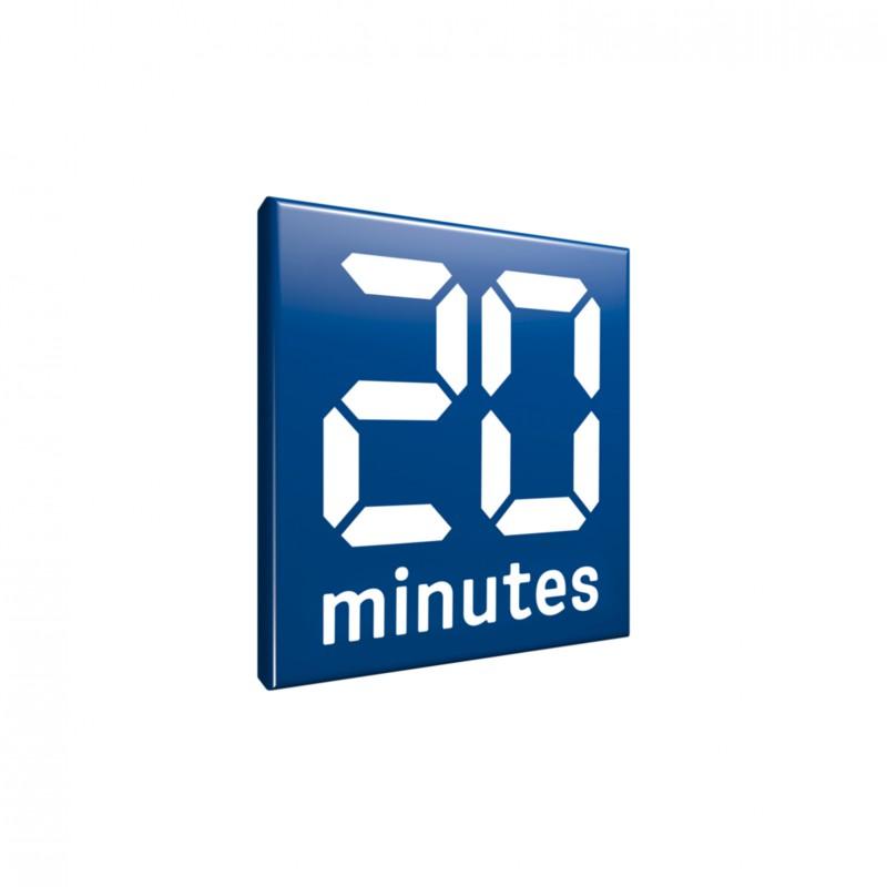 logo de la revue de médias 20 minutes