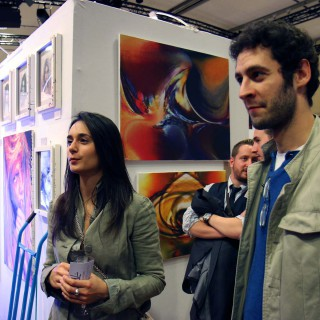 ambiance de l'expositions au carrousel du louvre à paris