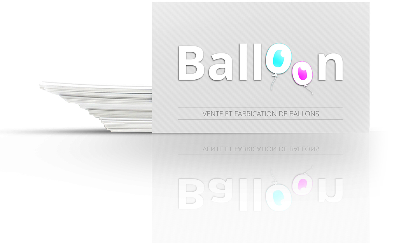 carte de visites de balloon