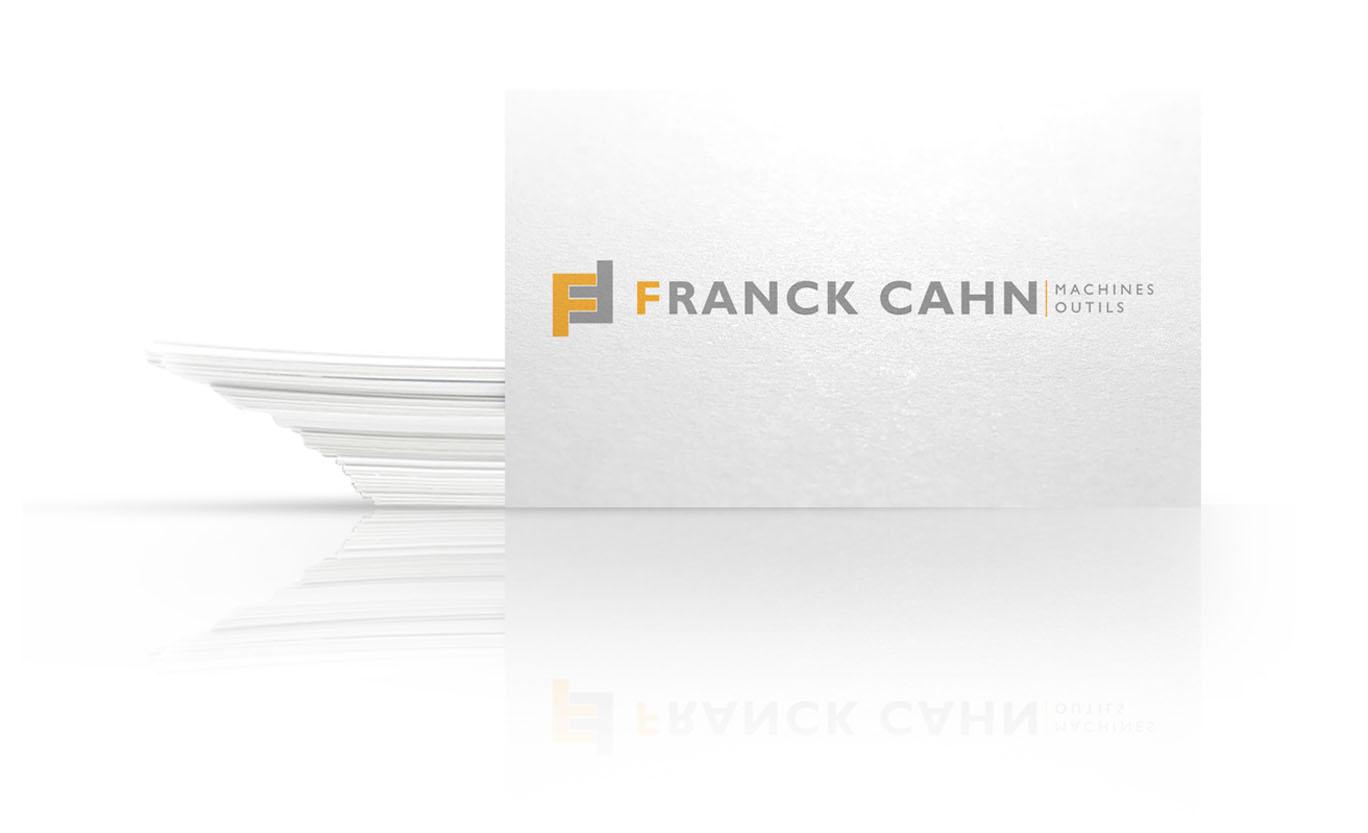 carte de visite de franck cahn FCMO