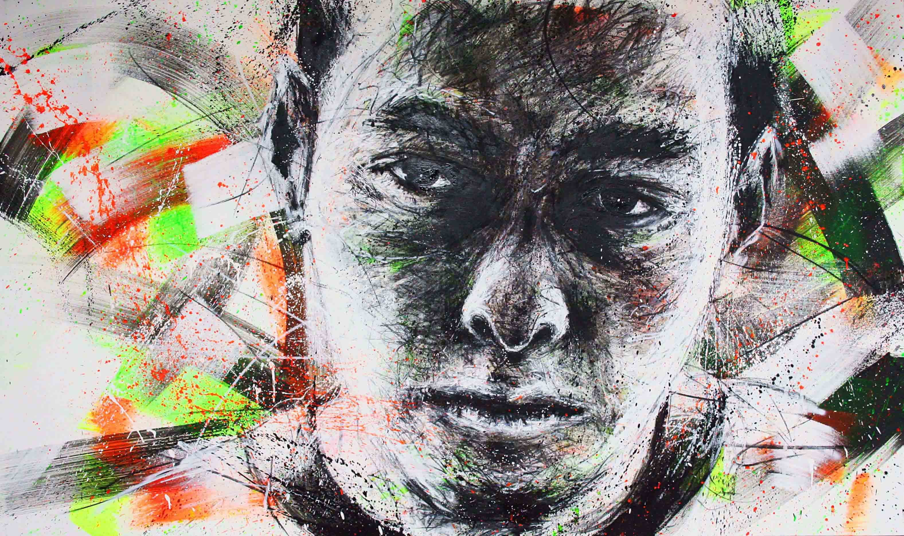 edward furlong de la collection de peinture chromophobia