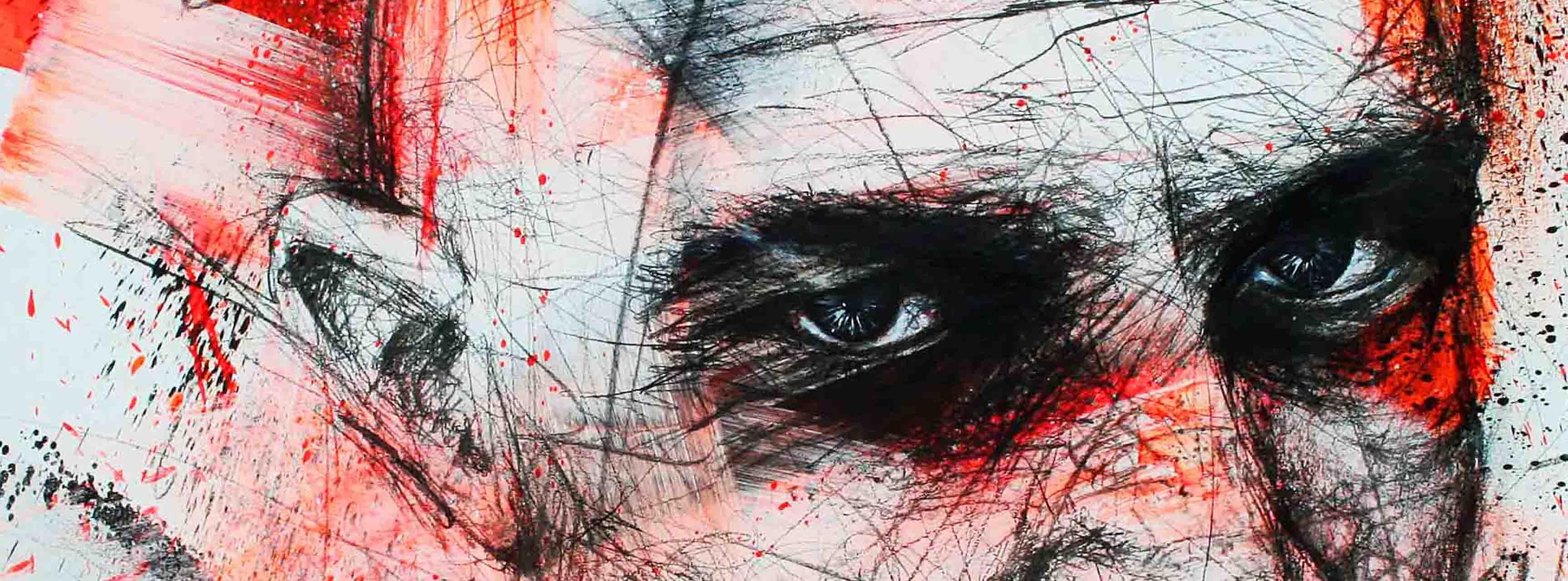 portrait de bronson ou tom hardy dans la collection chromophobia