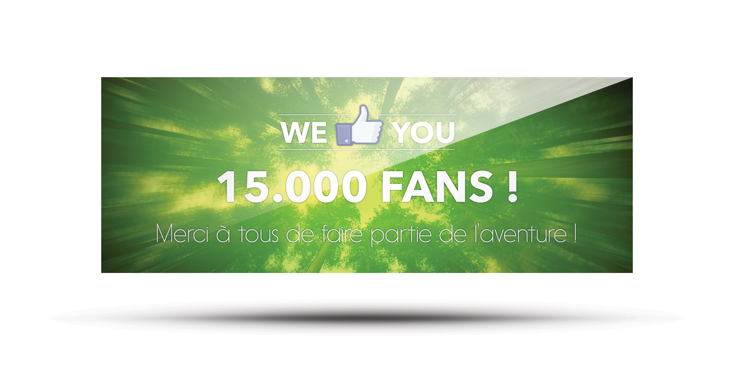 Covers facebook 15000 fans