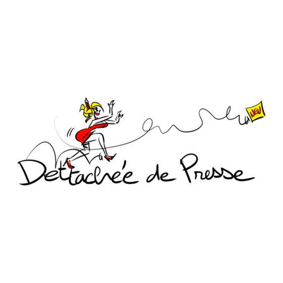 logo du blog de medias féminine déttachée de presse
