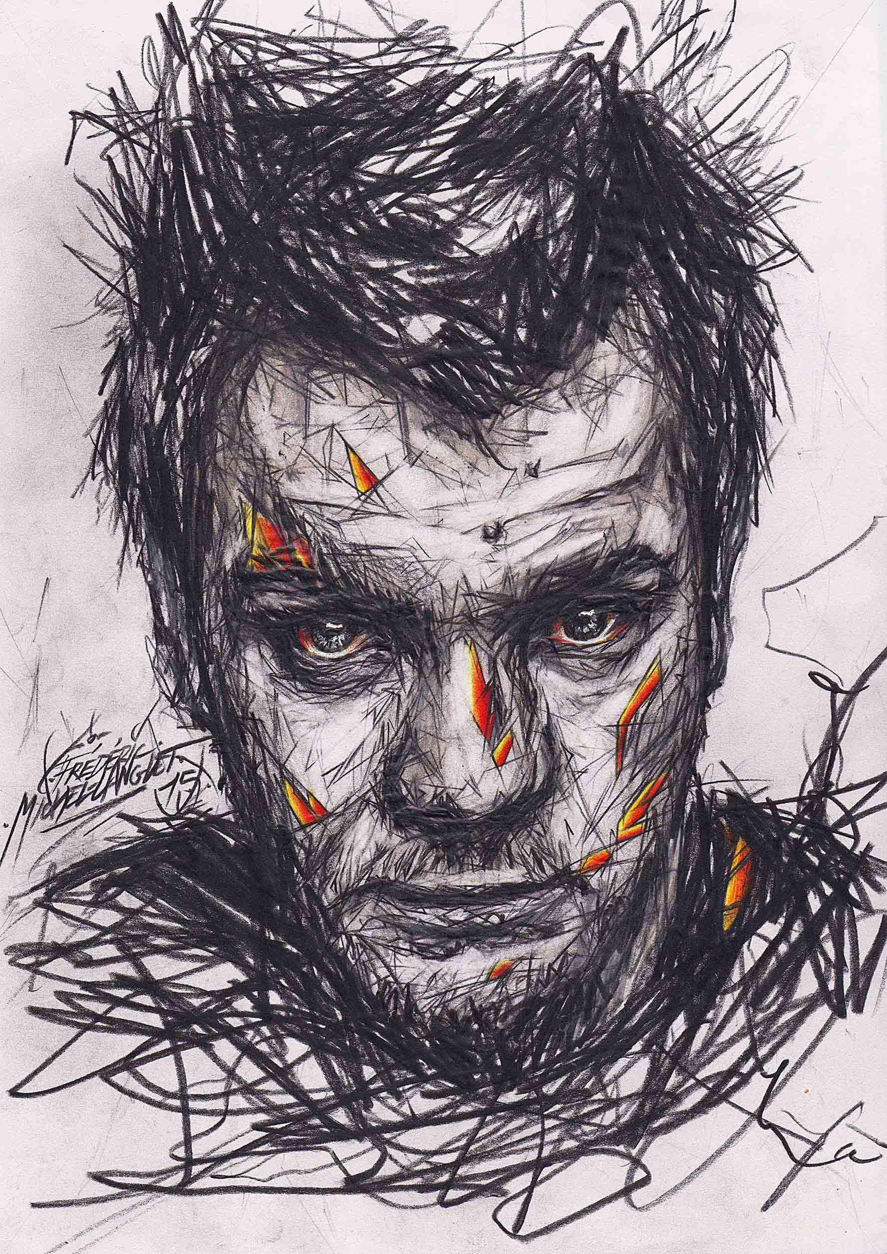 portrait de ewan mc gregor de la collection idées