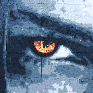oeil de la fresques humanimal de l'expositions d'issenheim