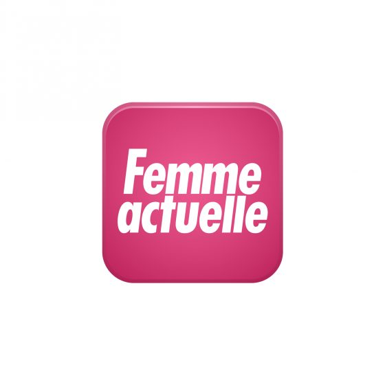 logo du journal féminin de médias femme actuelle