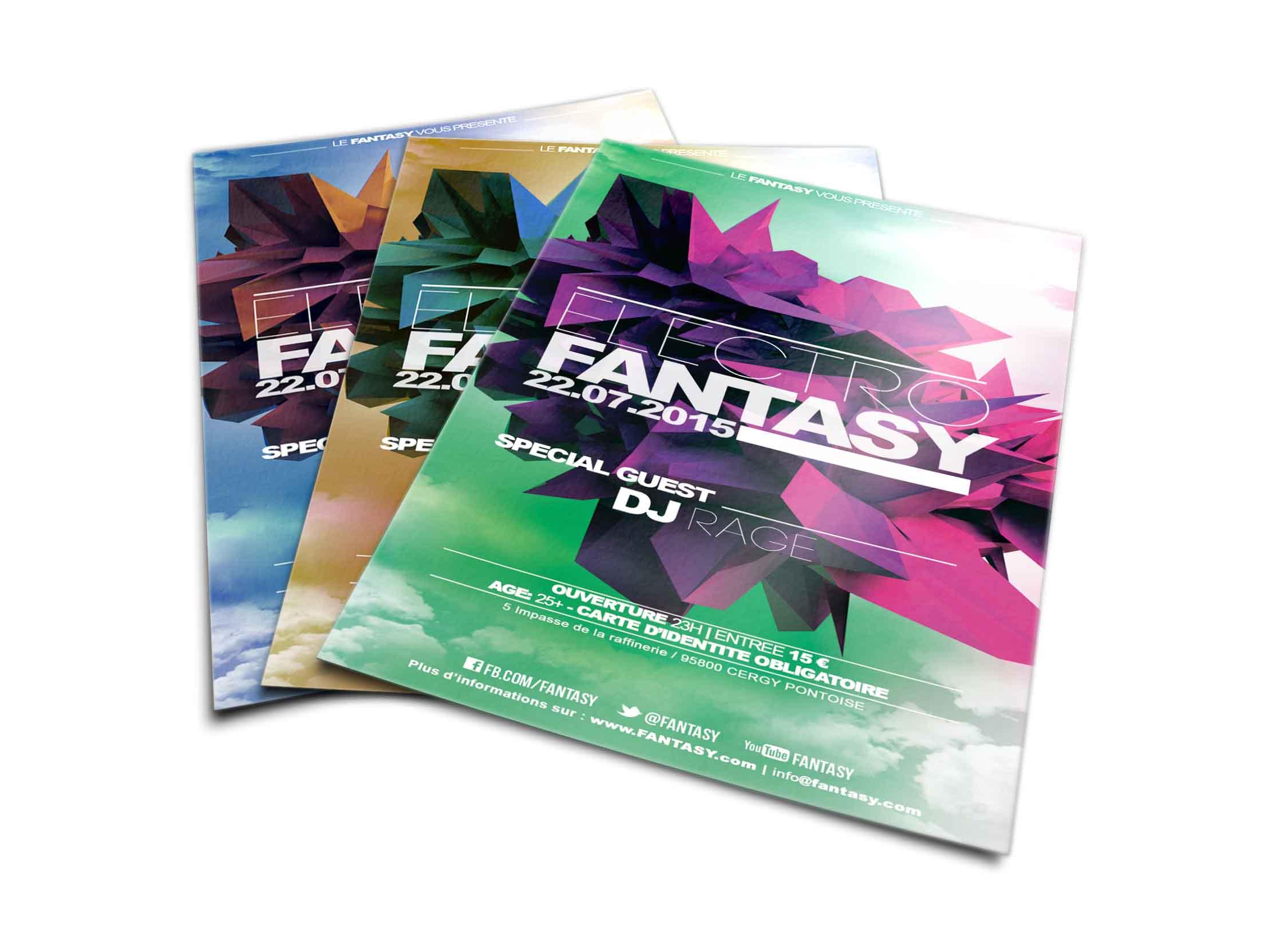 flyers electro fantasy