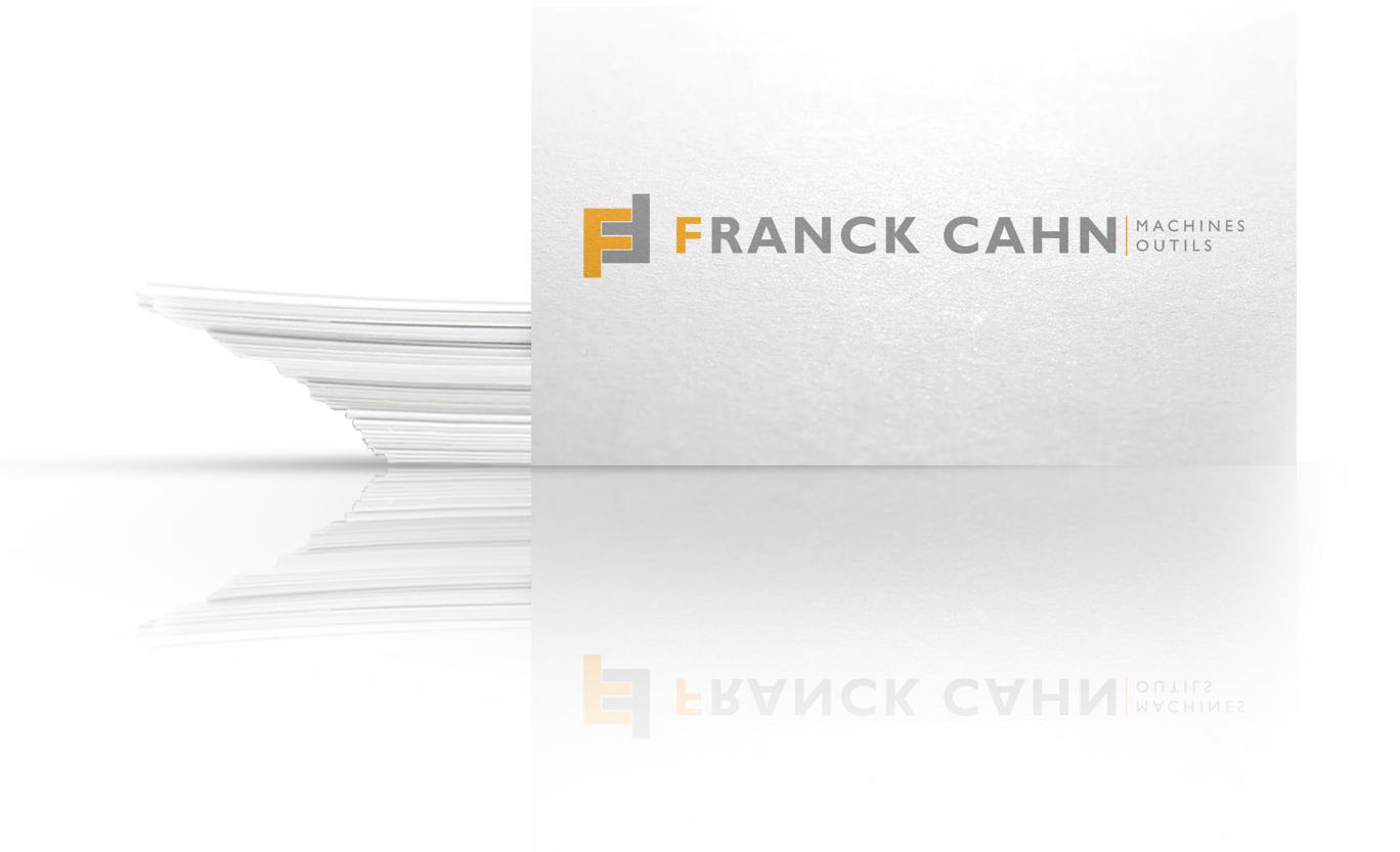 carte de visites de franck cahn