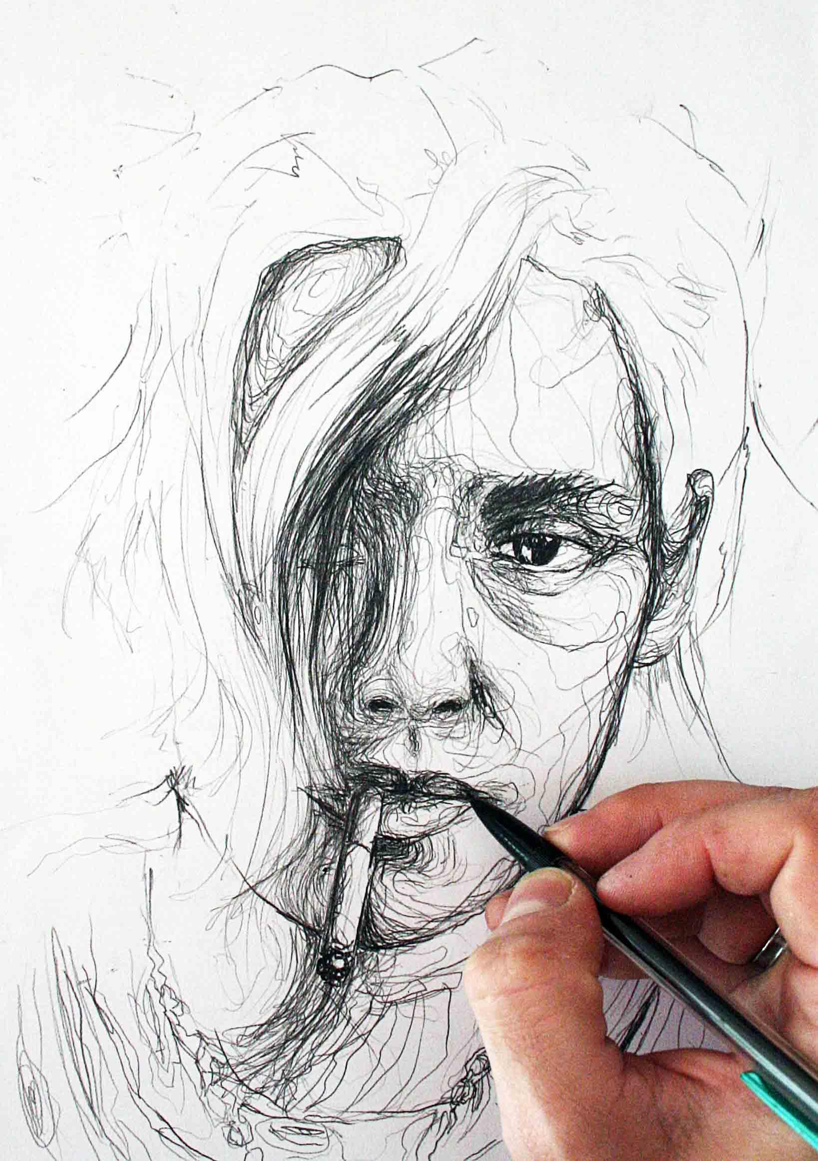 portrait de kirsten stewart de la collection idées