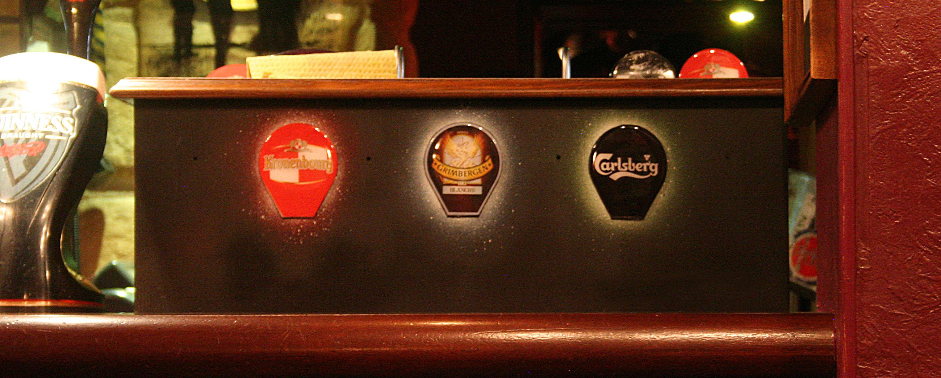 fresques du truskel microklub pour décorer des marques de bières