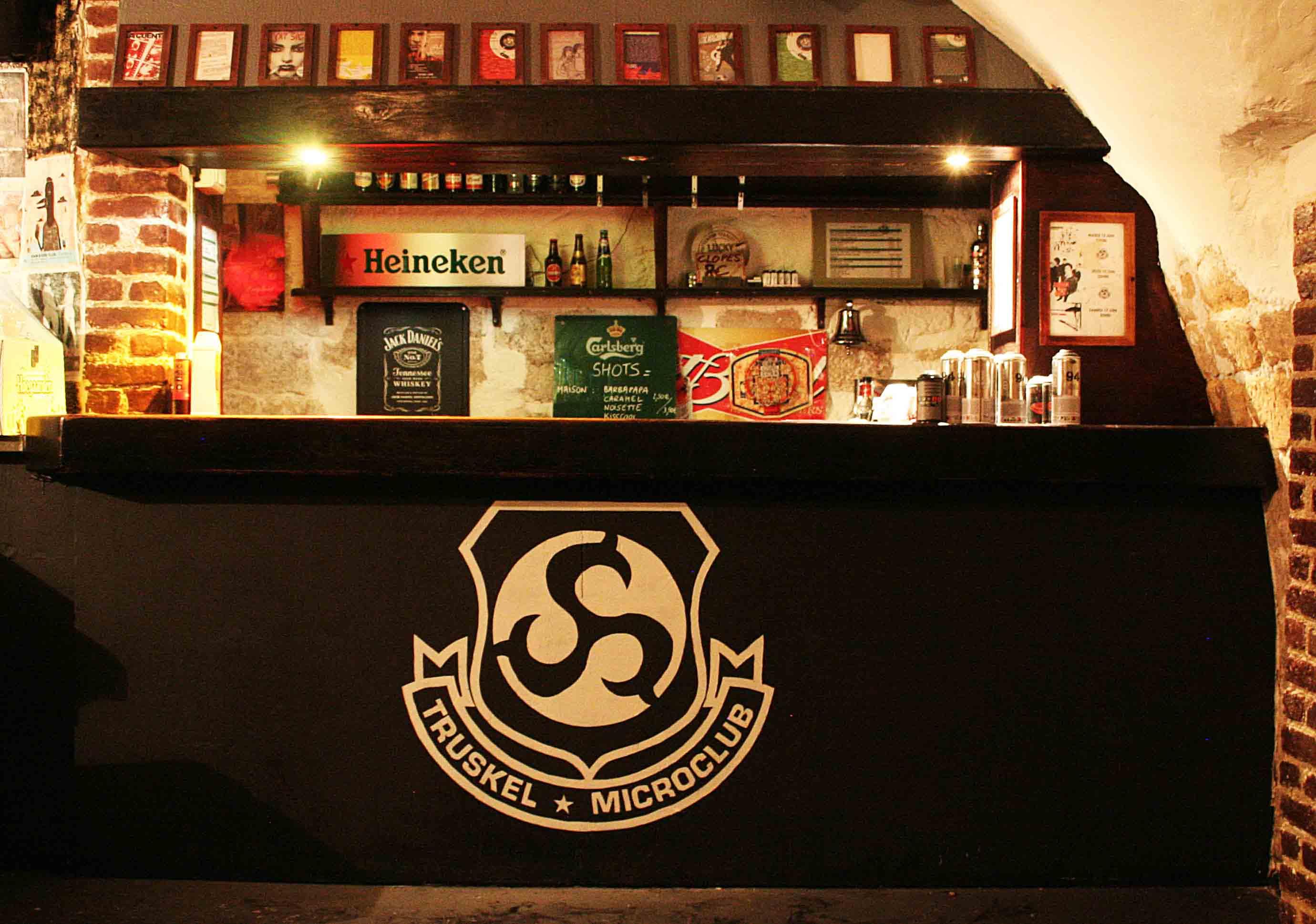 fresques du truskel microklub du logo