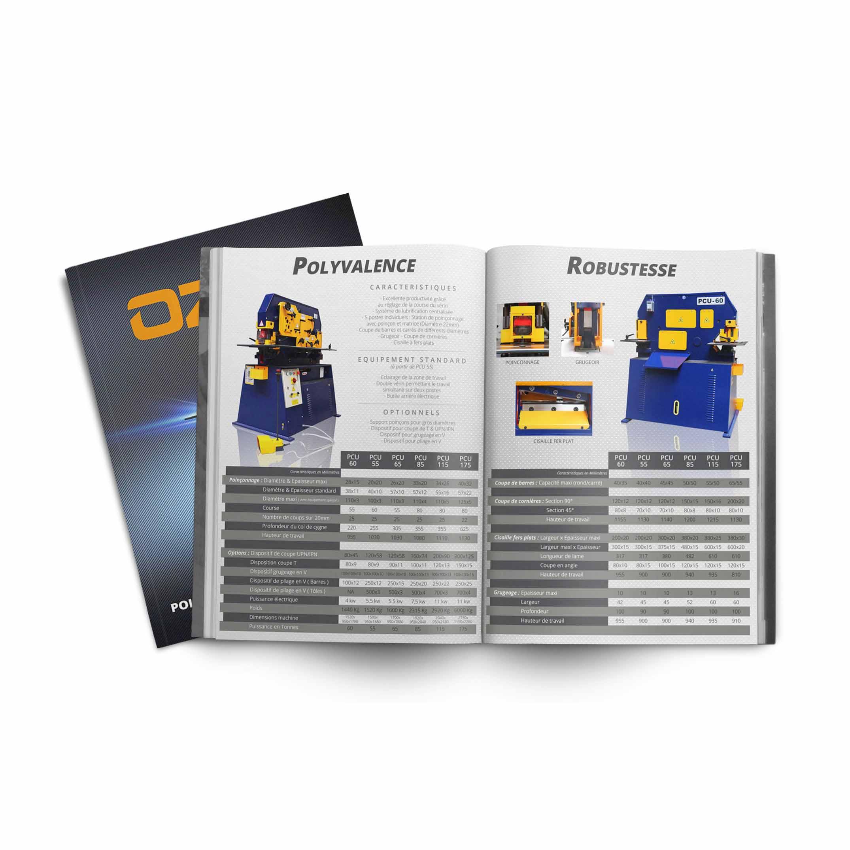 documents et catalogue de machines outils
