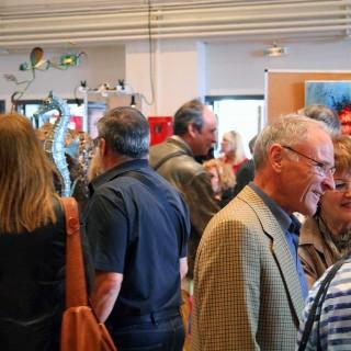 ambiance de l'expositions de saint germain les corbeil