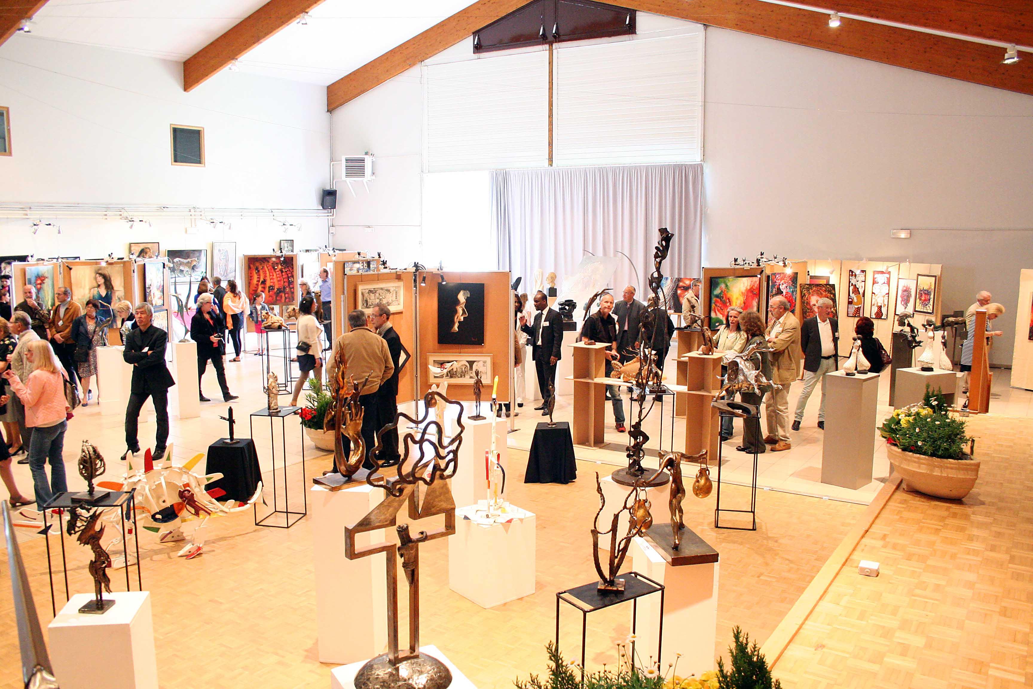 panorama de l'expositions de saint germain les corbeil