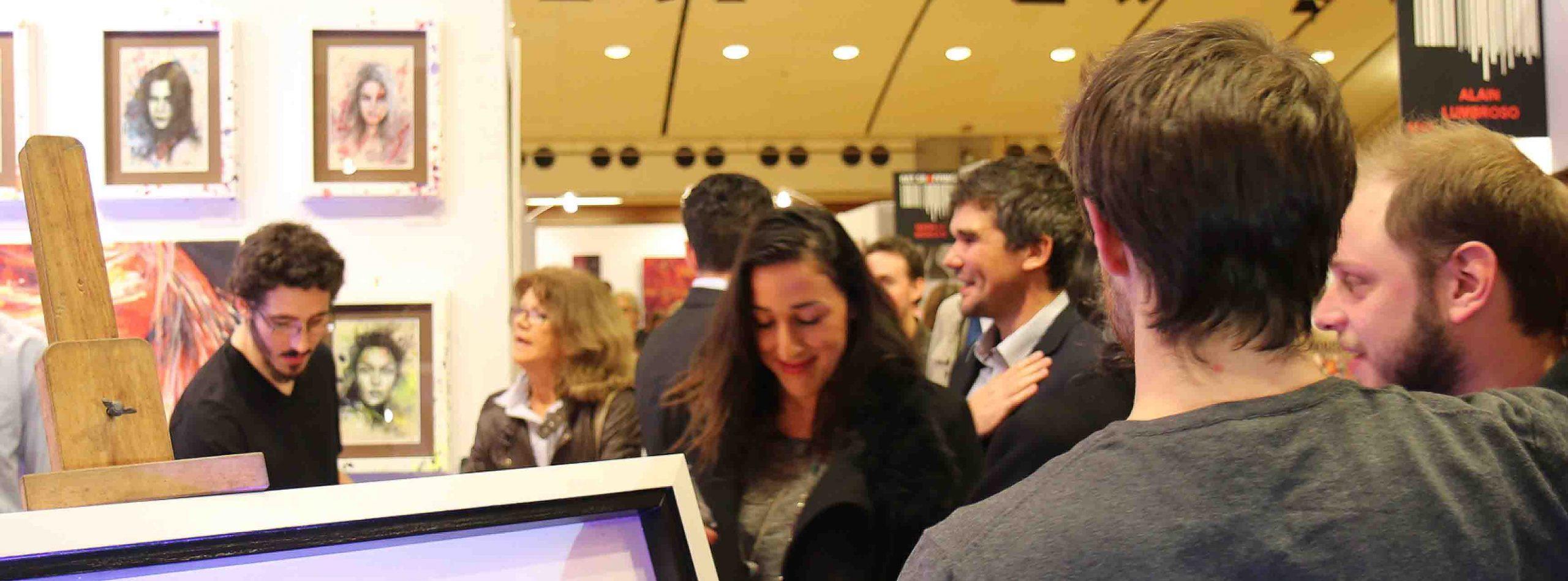 expositions au salon 2014 du carrousel du louvre