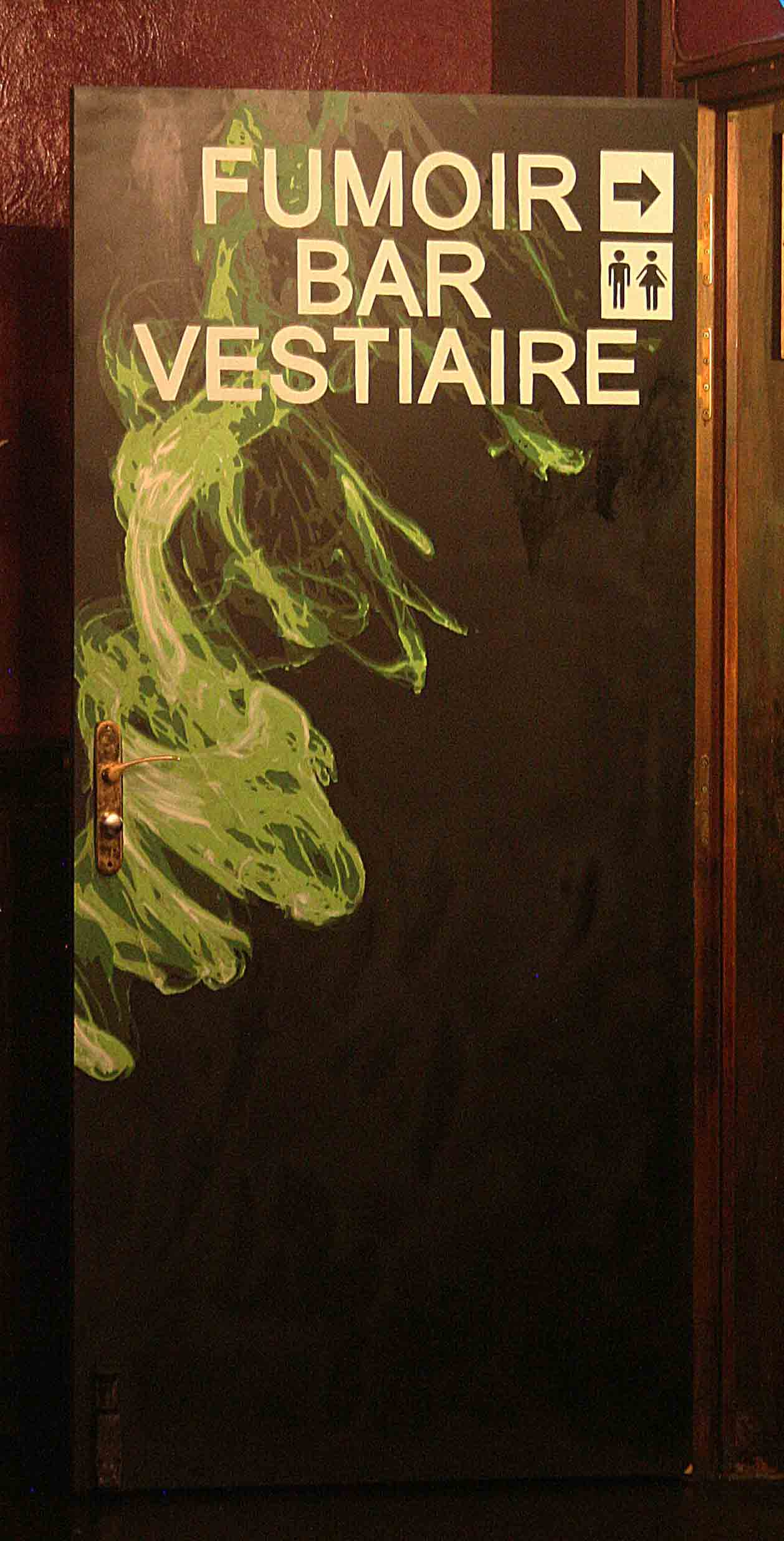 fresques du truskel microklub d'une porte