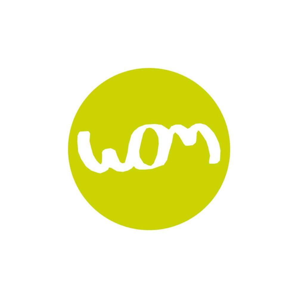 logo de la société de communication et de médias wom