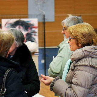 ambiance de l'expositions du festival de gouvieux