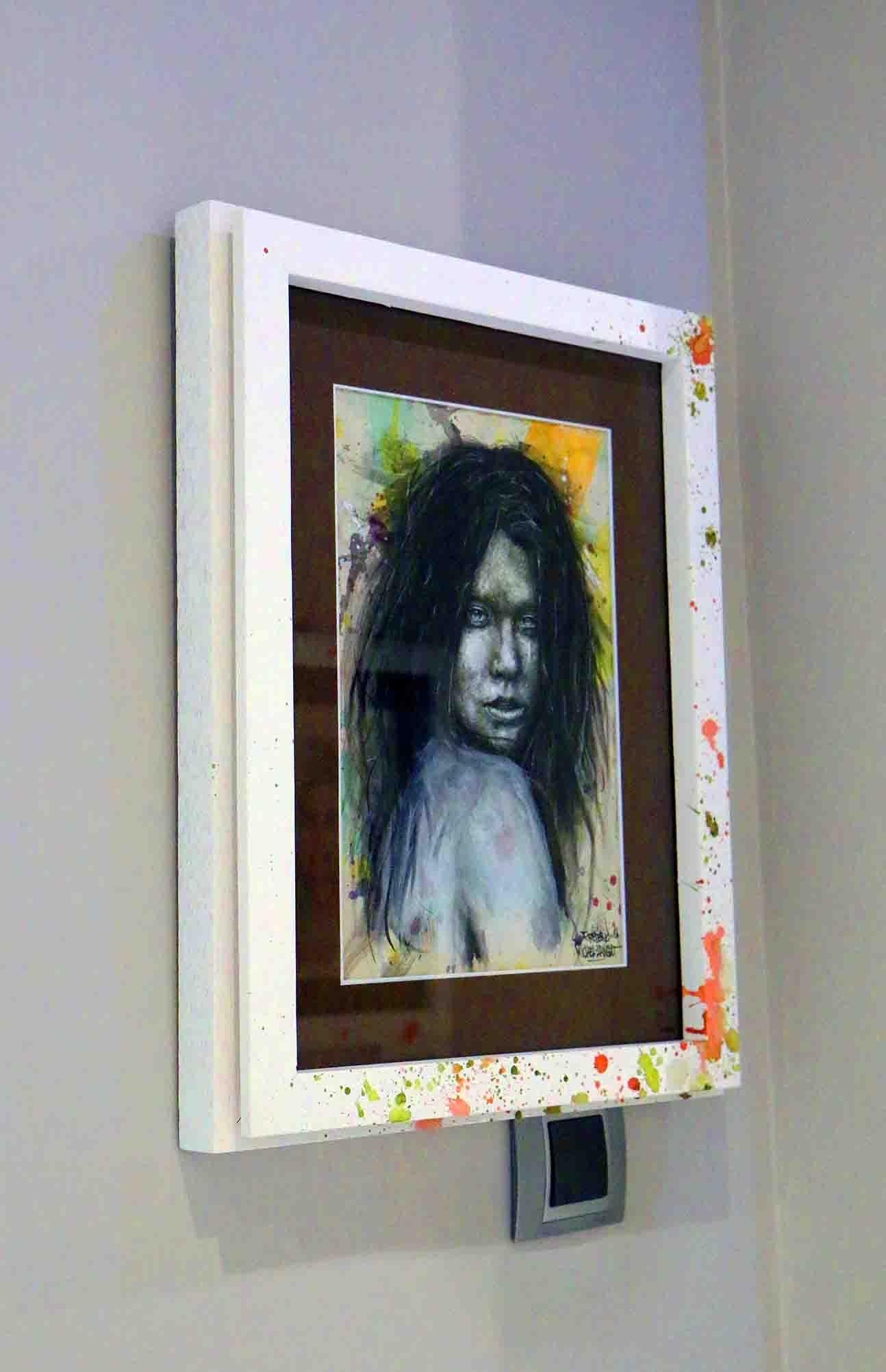 portrait stupeur de la collection parhélie de l'expositions de gouvieux