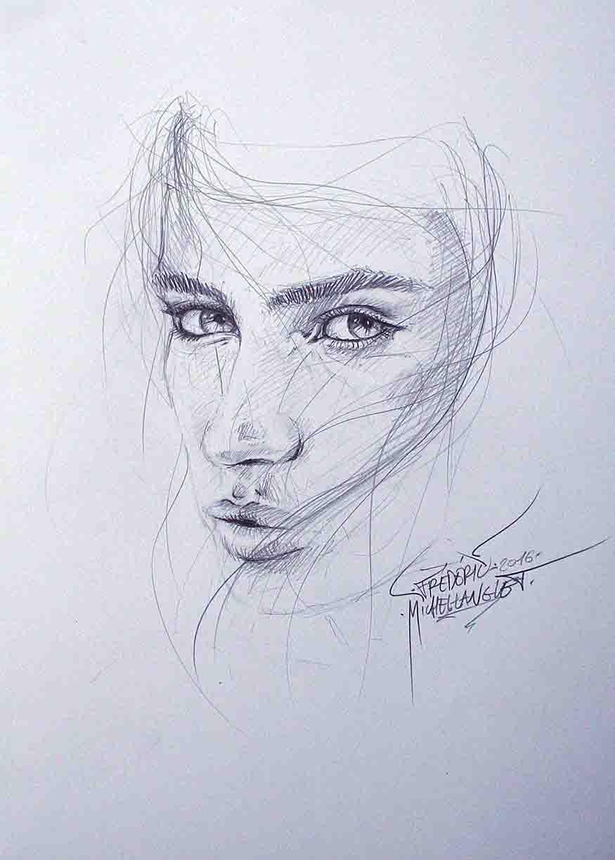 Portrait saphirre de sara sampaio de la collection idées
