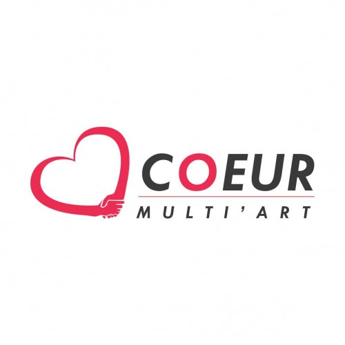 Logo de l'association coeur multi art