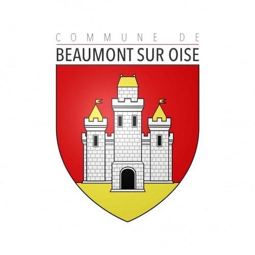Logo de la commune de beaumont sur oise dans l'oise