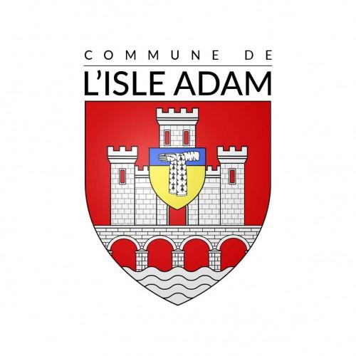 Logo de la commune de l'isle adam dans l'oise