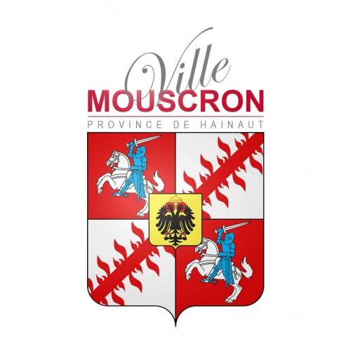 Logo de la commune de mouscron en belgique