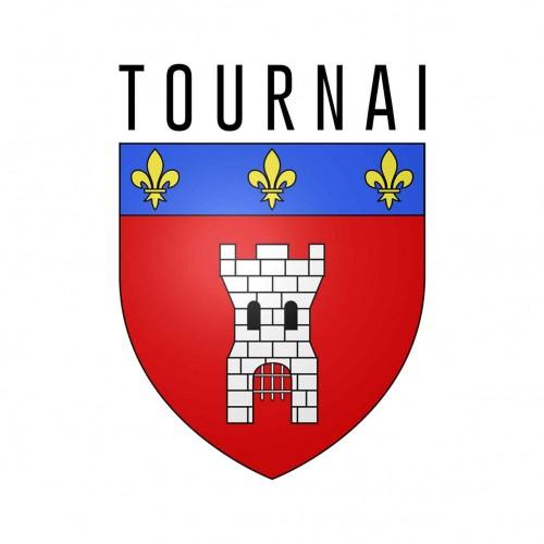 Logo de la commune de tournai en belgique