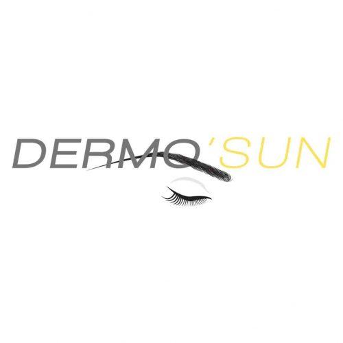 Logo de l'entreprise dermo'sun de maquillage permanent