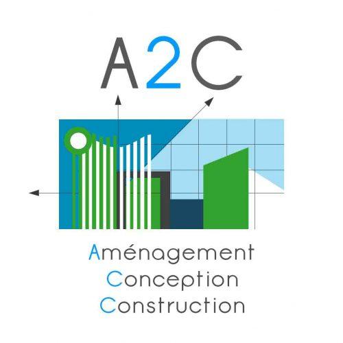 Logo de l'entreprise A2C de promotion immobilière à la chapelle en Serval dans l'oise