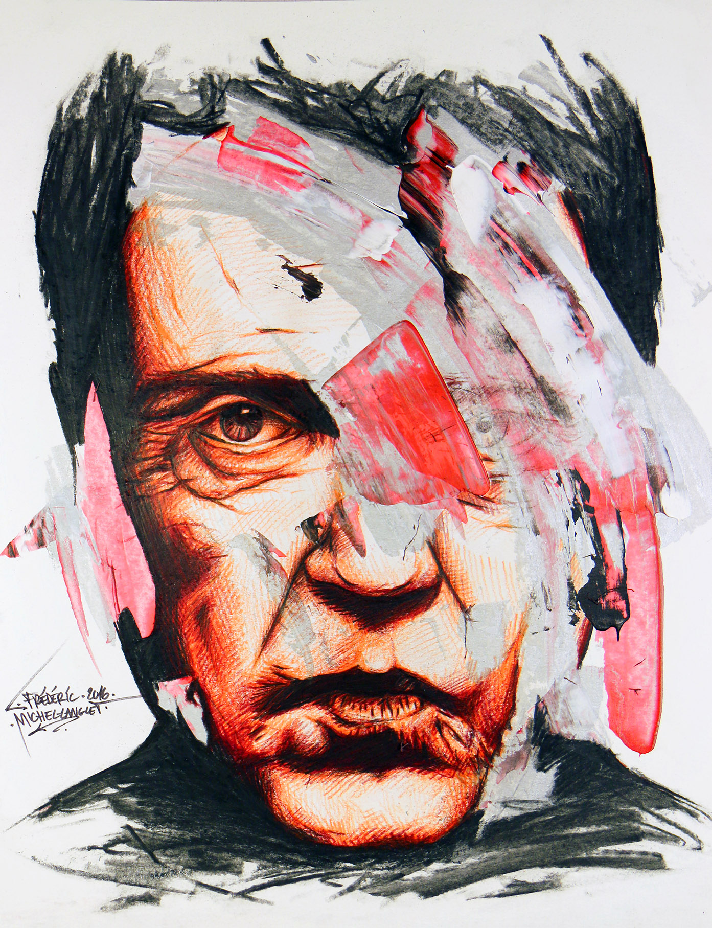 portrait cristopher walken de la collection apparence