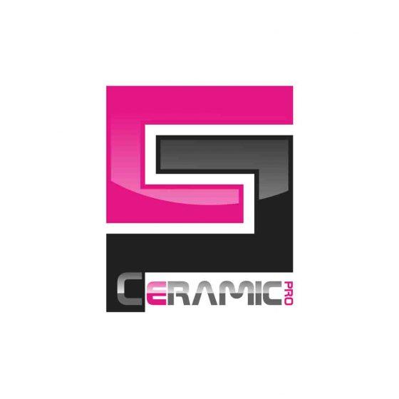 Logo de la société ceramic pro de ceramique protectrice automobile