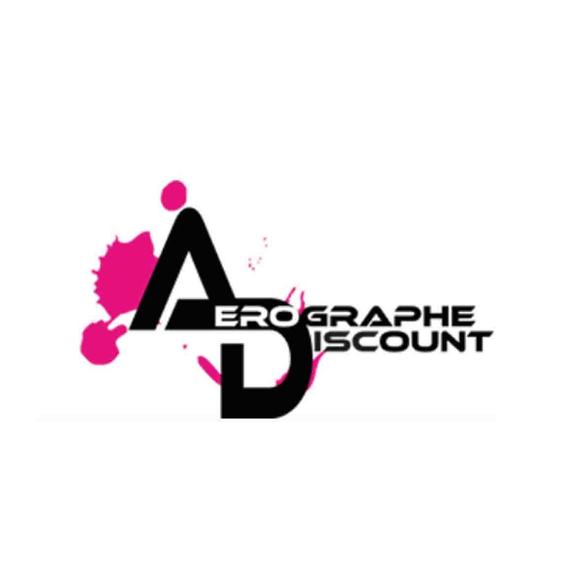 Logo aerographe discount partenariat fournisseur officiel frederic michel langlet